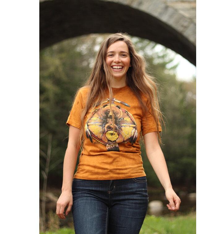 a tökéletes és egyedi ruházathoz Medve és az indián póló 4df4d40f1f