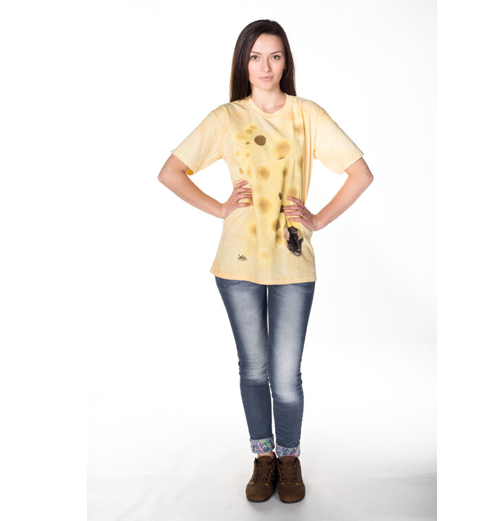 a tökéletes és egyedi ruházathoz Egér és a sajt póló cbe656f754