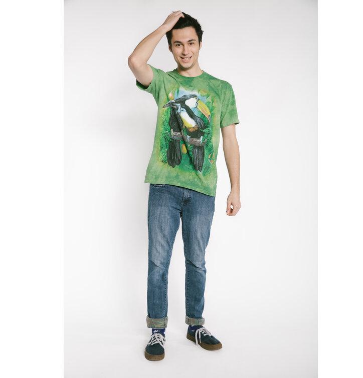 Hľadáte originálny a nezvyčajný darček  Obdarovaného zaručene prekvapí  Tričko Tukany. Obrázok produktu Tričko Tukany 7ae6265119