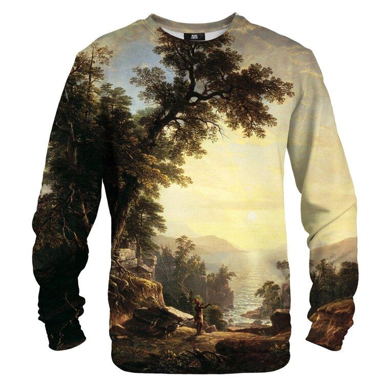 Sweatshirt ohne Kapuze Abschied von der Sonne