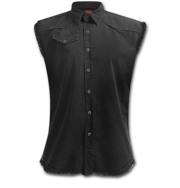 Foto Dámská košile bez rukávů Černá · Dámská košile bez rukávů Černá. Touch  to zoom · Potěšte se tímto kouskem Dedoles ... a91220b4ed