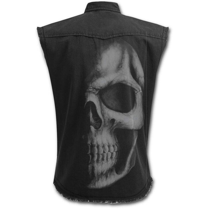 Potěšte se tímto kouskem Dedoles Košile bez rukávu Temná lebka f8e9ef158a