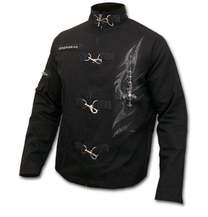 Orient Jacket Denim Cross of Protection