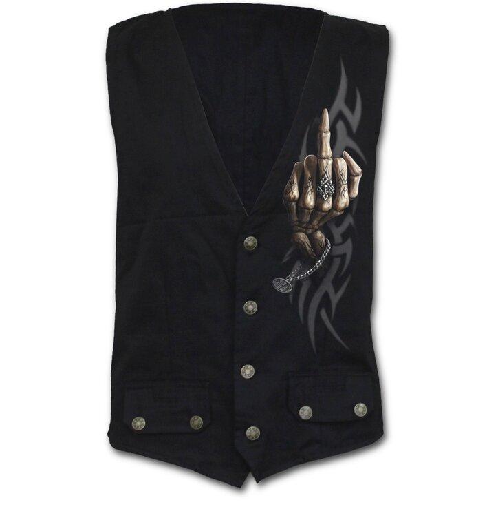 Pánska vesta Kosti prstov