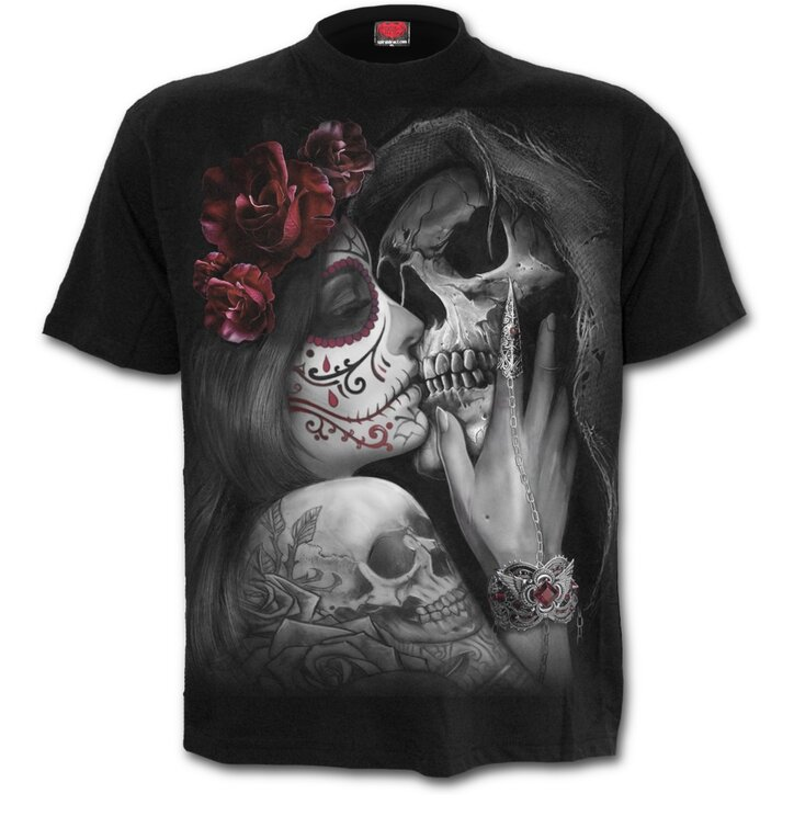 T-shirt with design Dead Kiss