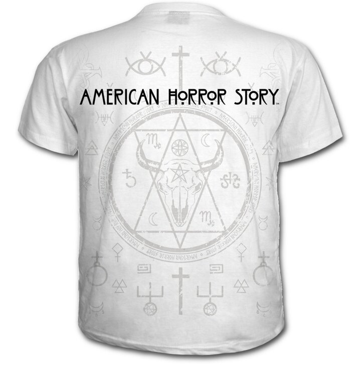 Tip na darček Tričko s motívom American Horror Story - White nun 6d734059b81