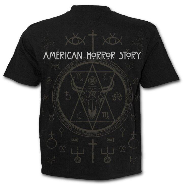 Lifestyle foto Tričko s motívom American Horror Story Coven - Snakemouth 1dbc5a84685