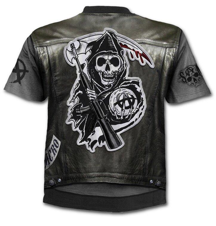 Kedvezmény Póló Sons of Anarchy Jax motívummal c70fbe740b