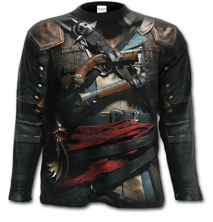 Long Sleeve with design Assassins Creed Black Flag