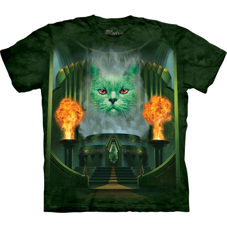 T-shirt with Short Sleeve Cat The Wizard of Oz