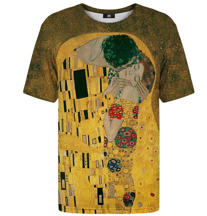 Tričko s krátkým rukávem Malba Polibek