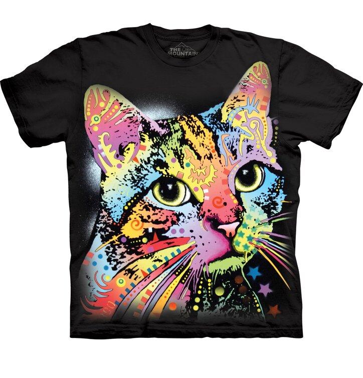 Tričko s krátkým rukávem Russo Pohled kočky