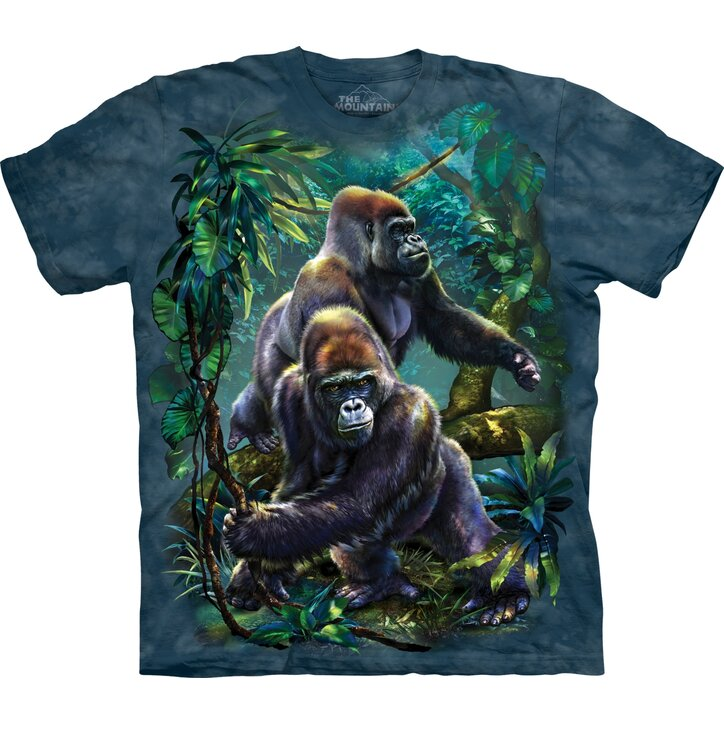 Tričko s krátkým rukávem Gorily v pralese