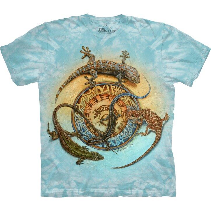 Tričko s krátkým rukávem Kruh plazů