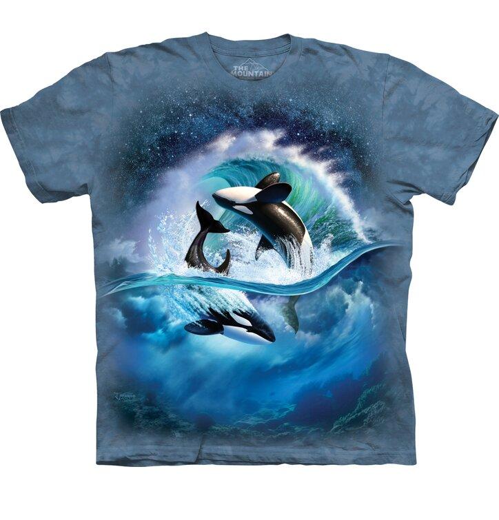 Tricou cu mânecă scurtă Balena ucigașă