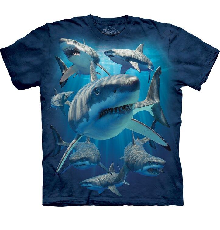 Tričko s krátkým rukávem Útoční žraloci