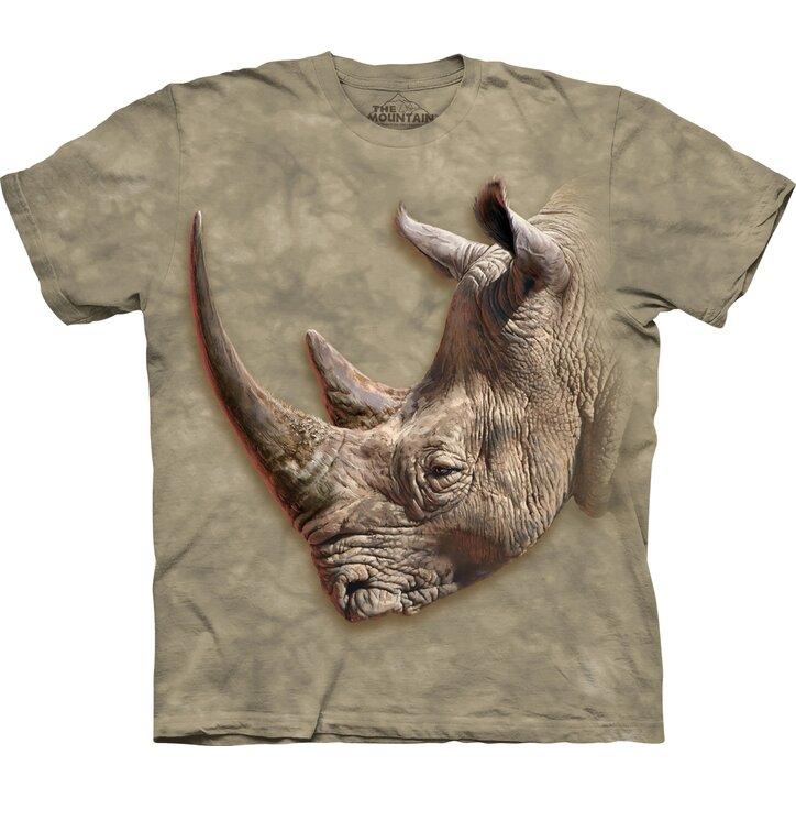 Tričko s krátkym rukávom Profil nosorožca