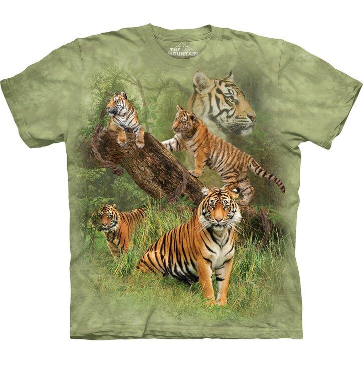 Koszulka z krótkim rękawem Pięć tygrysów