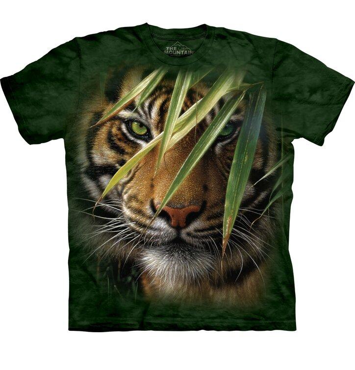 Koszulka z krótkim rękawem Ukryty tygrys