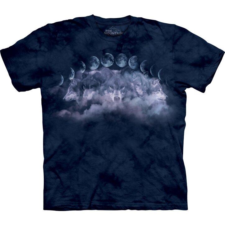T-shirt Fasi del mese e del lupo