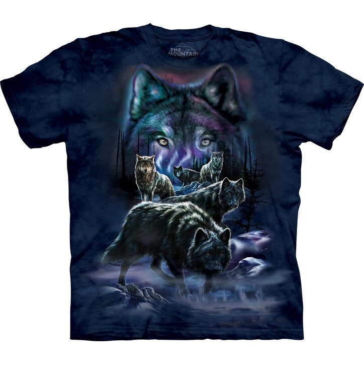 T-Shirt Kurzarm Wolfsrudel