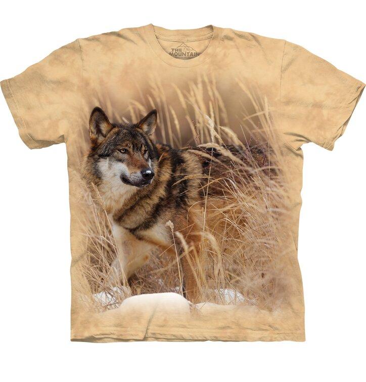 Tričko s krátkym rukávom Vlk na love