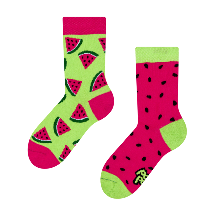 Kid's Socks Watermelon