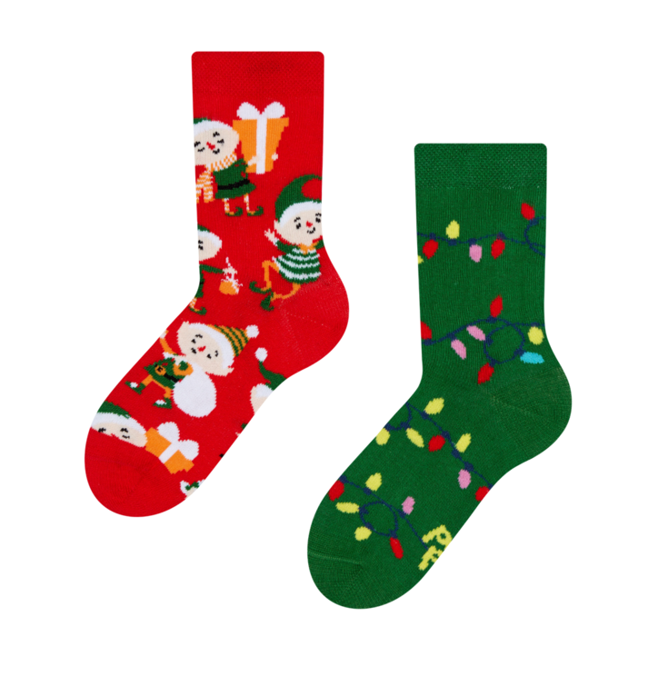 Kid's Socks Elves