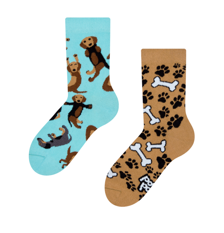Otroške vesele nogavice Jazbečar