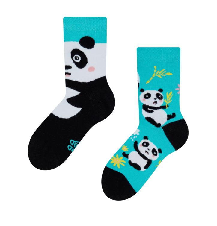 Vrolijke kindersokken Panda
