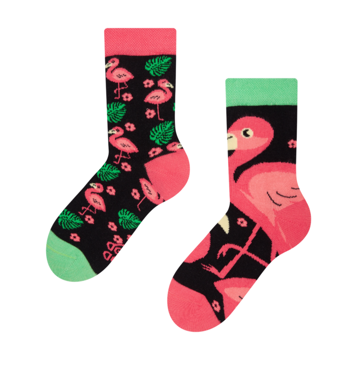 Kid's Socks Flamingo