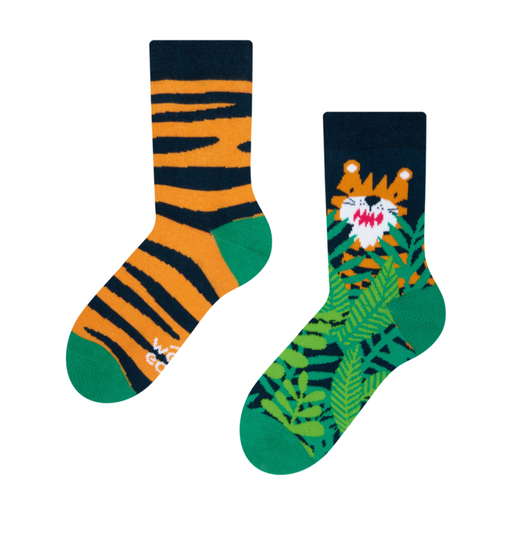 Kid's Socks Tiger