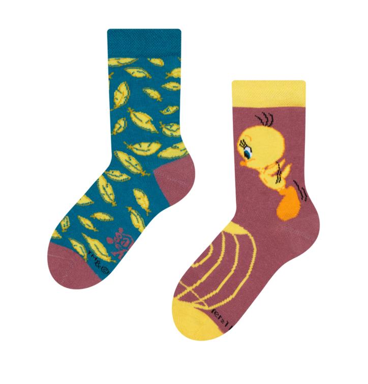 Tweety ™Kids Socks Feathers