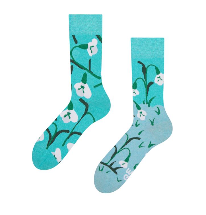 Good Mood Eco Friendly Socks Snowdrops