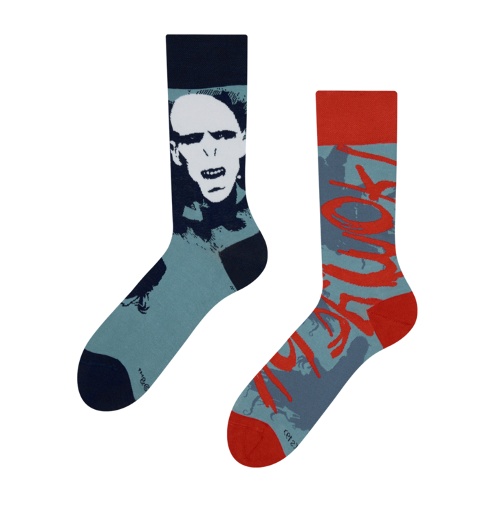 Chaussettes rigolotes Harry Potter ™ Voldemort