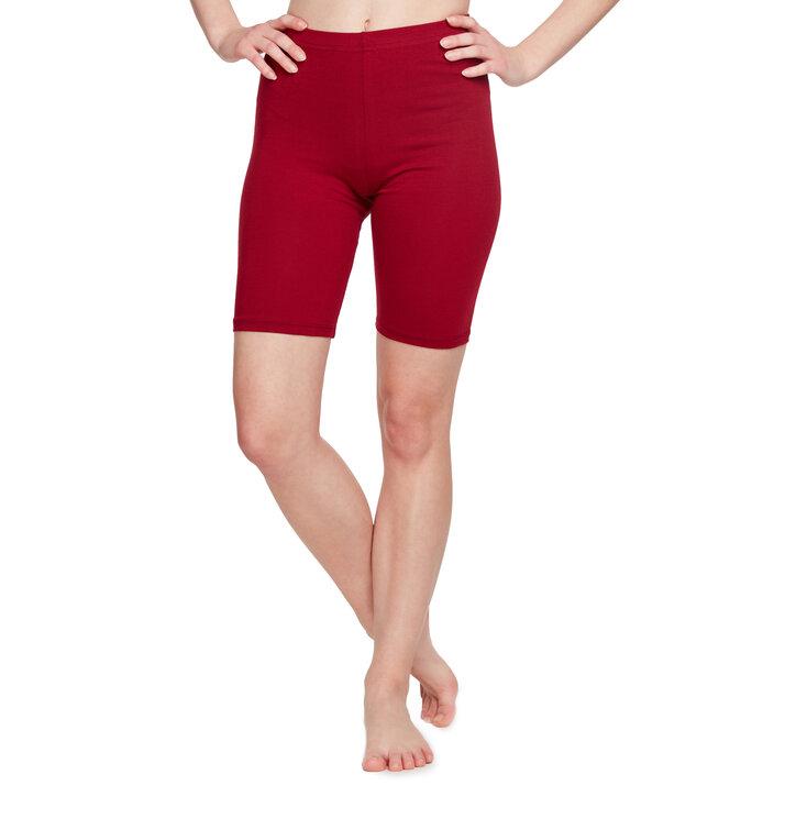 Bordo bombažne kolesarske kratke hlače