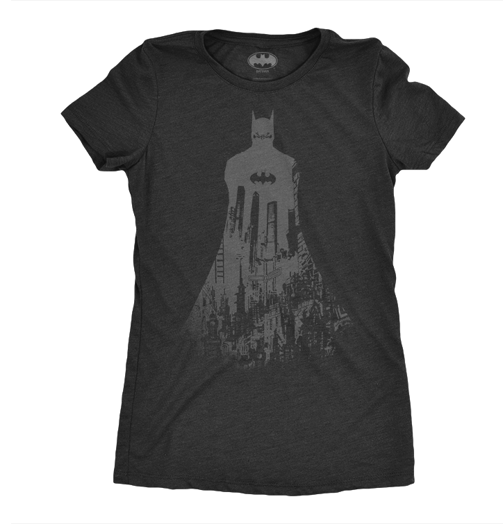 Ladie's T-Shirt Batman The Dark Night Rises