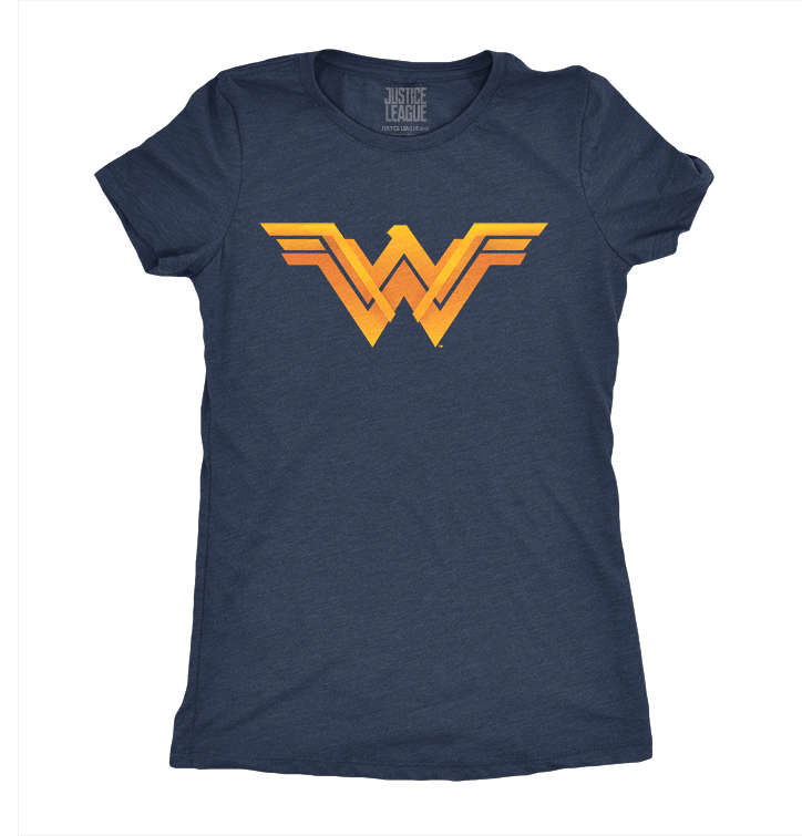 Dames-T-shirt Justice League™ - Logo