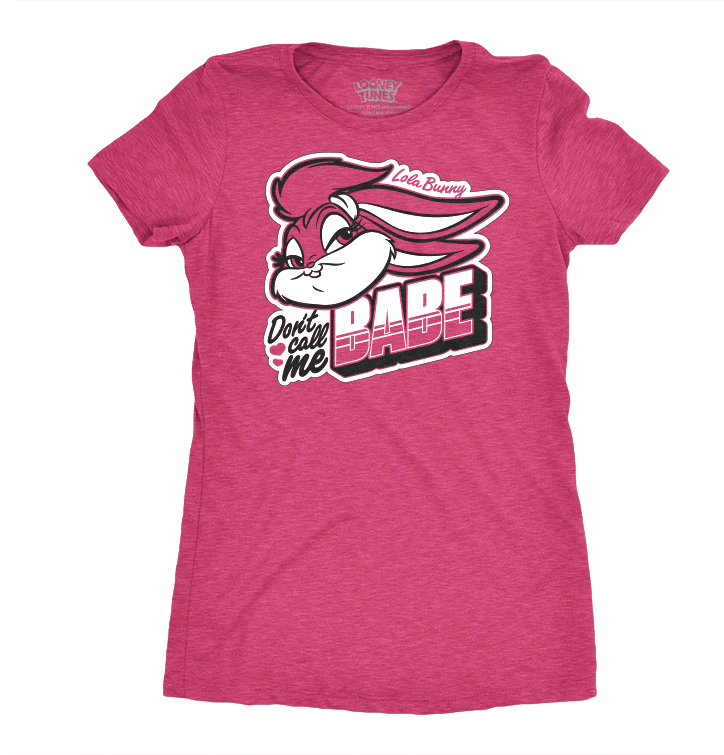 Women's T-Shirt Lola Bunny - Don't Call Me Babe