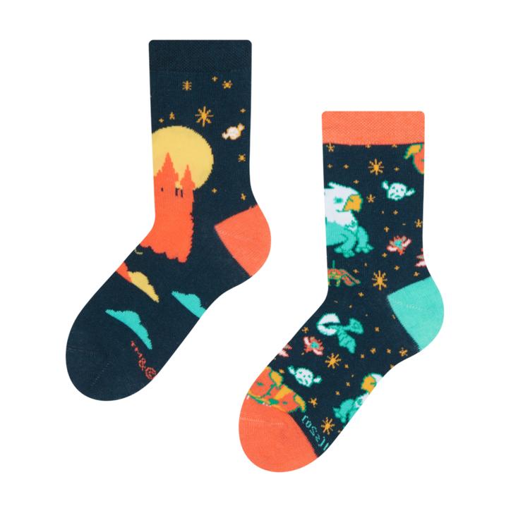 Детски весели чорапи Harry Potter ™ Магическите създания от Хогуортс