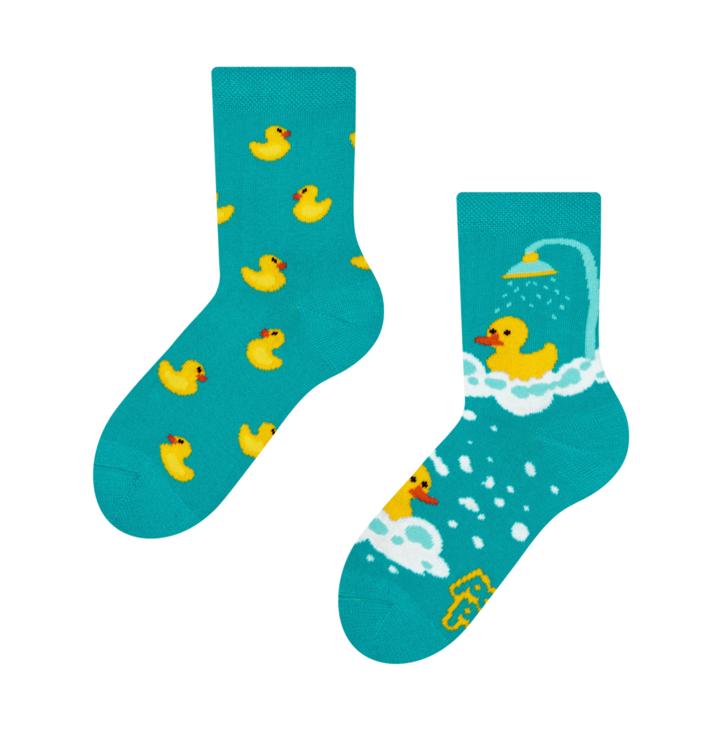 Dětské veselé ponožky Kačenky