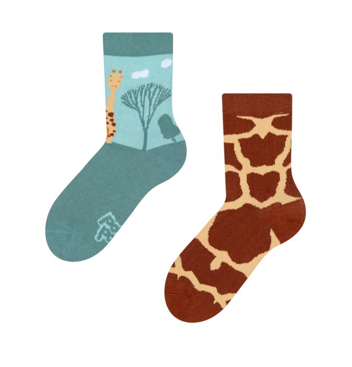 Dětské veselé ponožky Žirafa