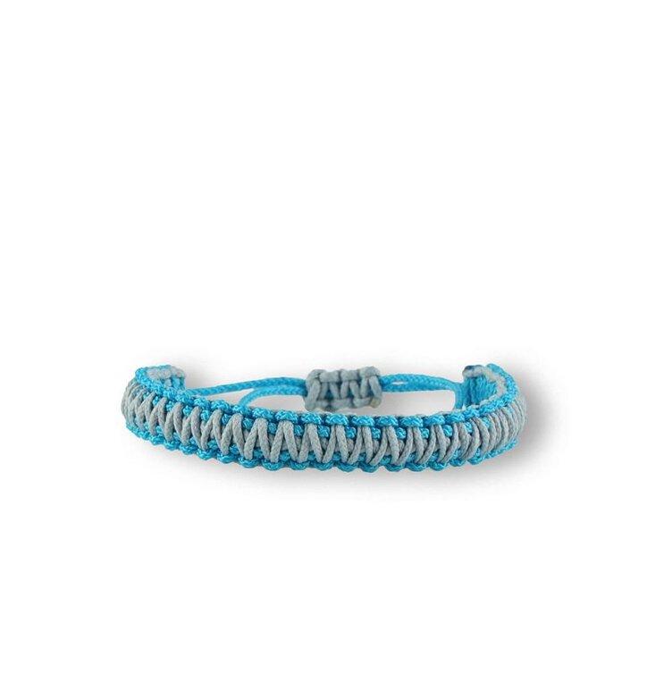 Microcord survival náramek King Cobra modro -šedý