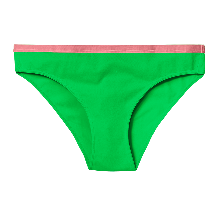 Neon Green Women's Briefs