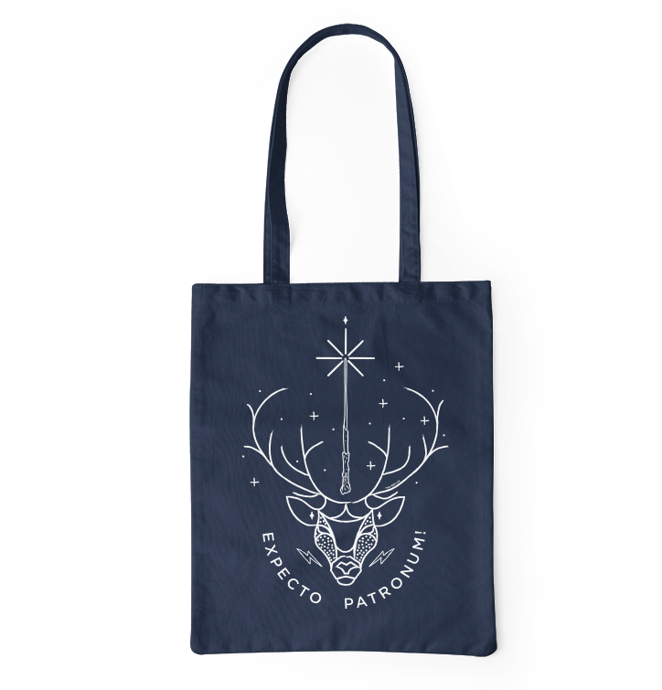 Canvas tas Harry Potter ™ Expecto Patronum