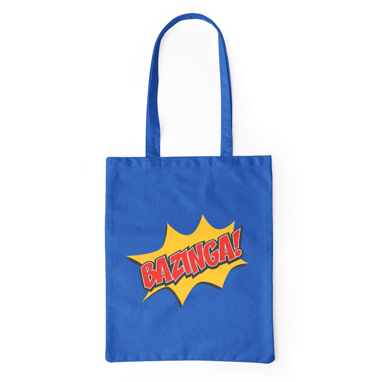 Platnena torba The Big Bang Theory™ Bazinga