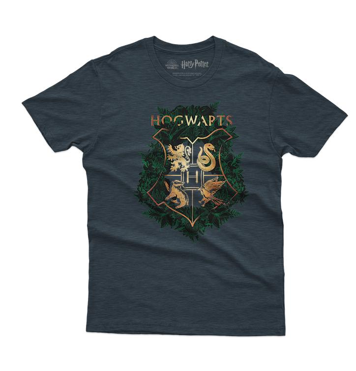T-Shirt Harry Potter™ Golden Hogwarts Crest