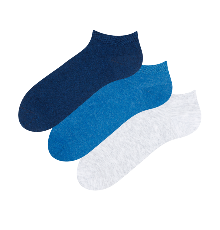3-pack Recycled Cotton Low Socks Visionary