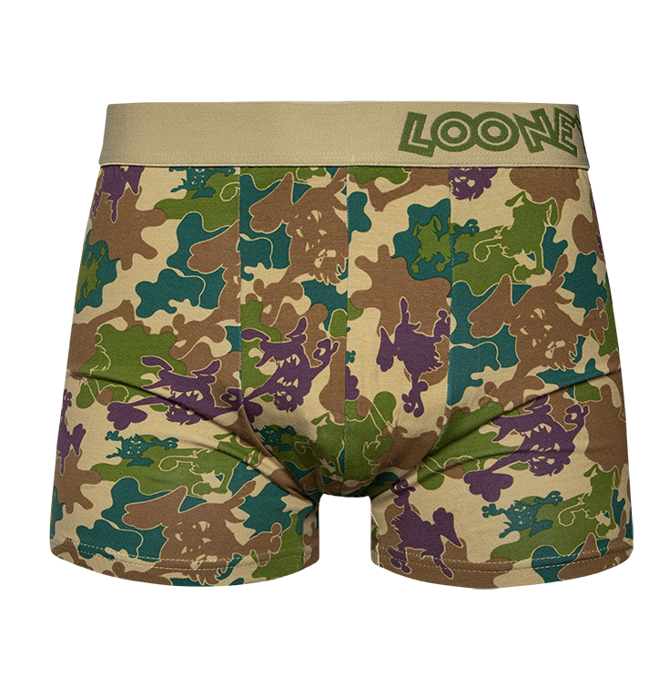 Looney Tunes ™ Men's Trunks Camouflage