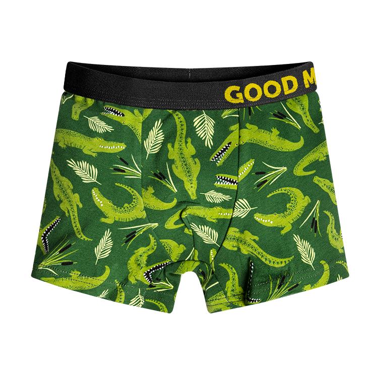 Vrolijke jongens boxershorts Krokodil